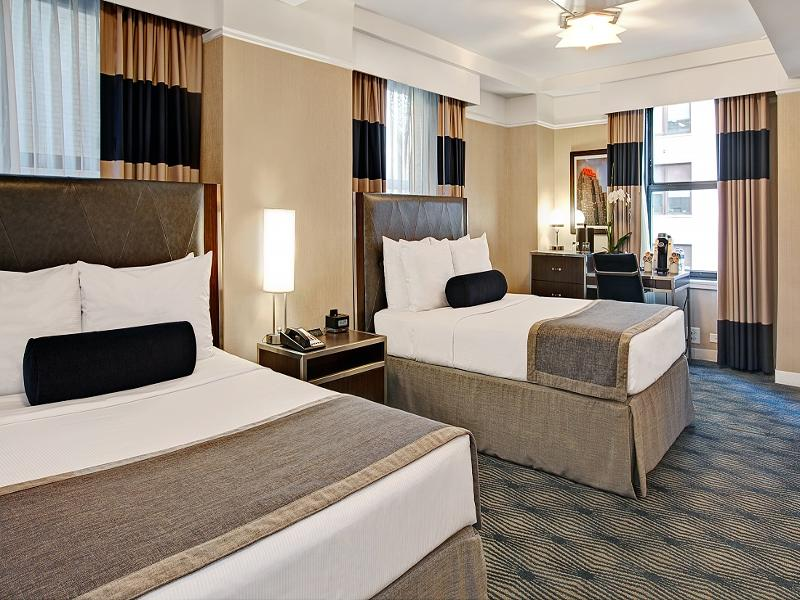 Executive Twin room del hotel The New Yorker, A Wyndham. Foto 1