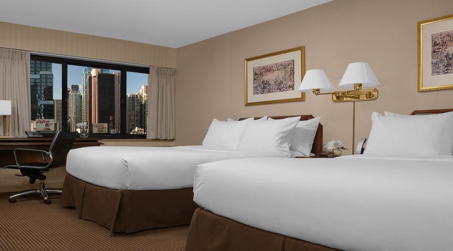 Habitación doble dos camas separadas del hotel The Manhattan at Times Square