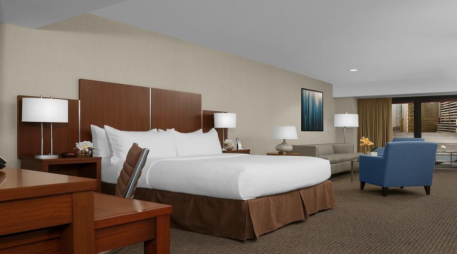 Junior suite  del hotel The Manhattan at Times Square. Foto 1