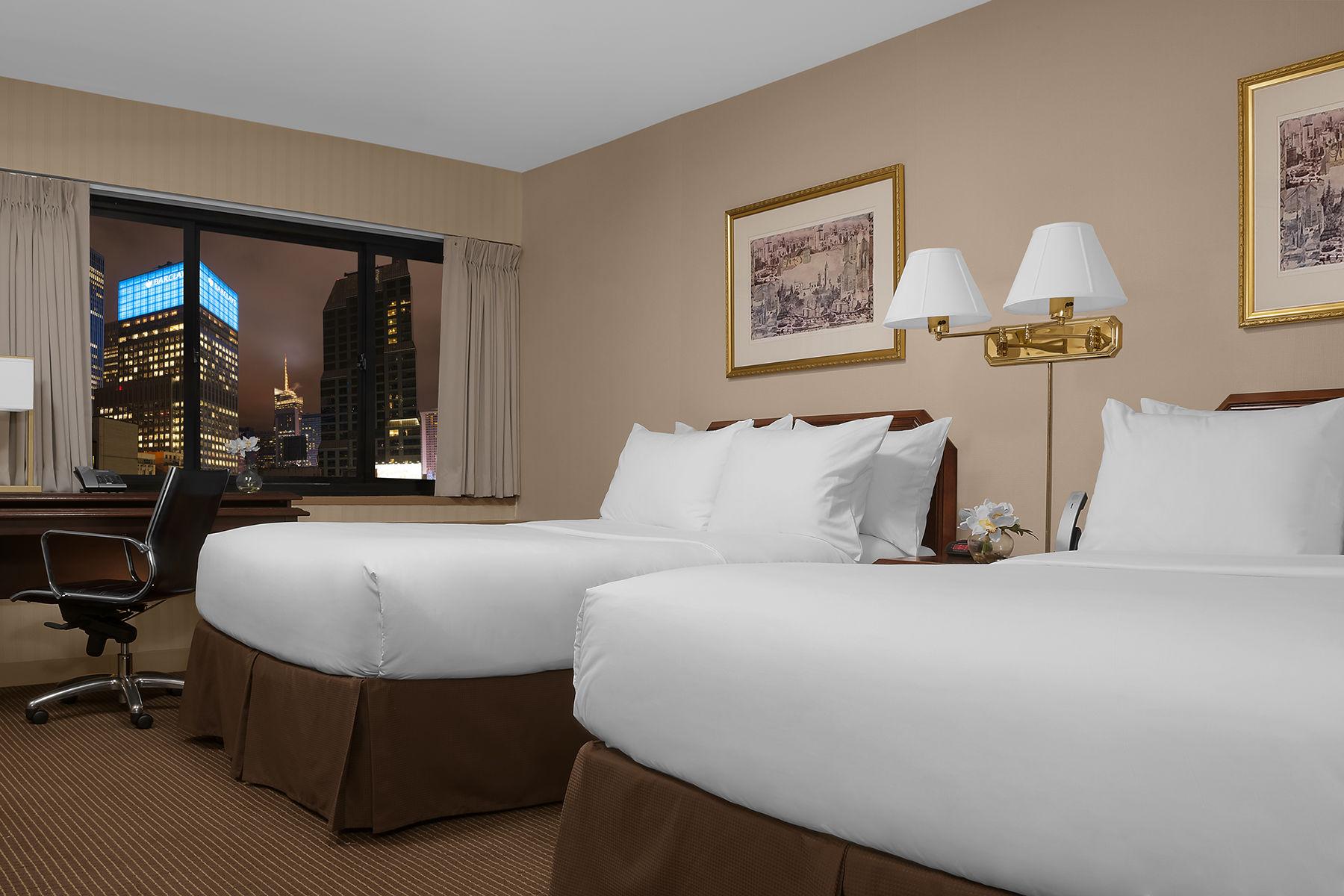 Habitación doble Lujo dos camas separadas del hotel The Manhattan at Times Square