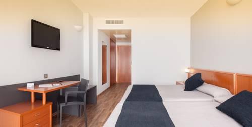 Habitación individual  del hotel RH VINAROS PLAYA