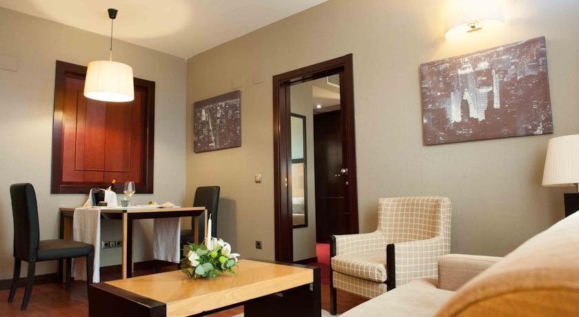 Junior suite  del hotel Sercotel Princesa de Eboli. Foto 1
