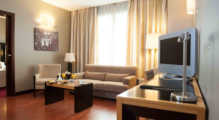 Habitación doble Superior del hotel Sercotel Princesa de Eboli. Foto 1