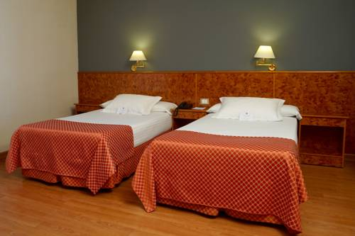 Habitación doble dos camas separadas del hotel Shs Aeropuerto