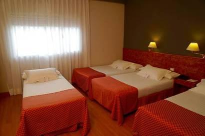 Habitación cuadruple  del hotel Shs Aeropuerto