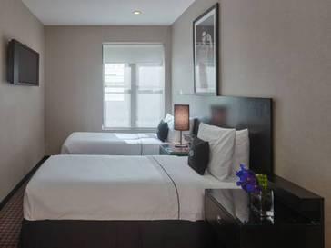 Superior Two Twin del hotel Night Hotel Times Square