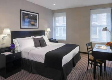 Deluxe room del hotel Night Hotel Times Square