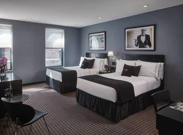 Deluxe City View Two Full Beds del hotel Night Hotel Times Square
