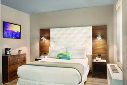 Habitación doble  del hotel The Gallivant Times Square