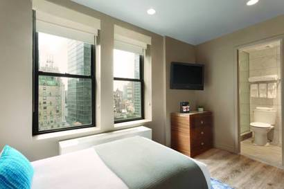 Single room del hotel The Gallivant Times Square