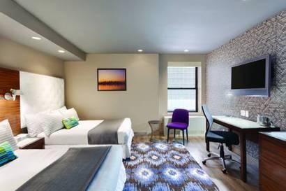 Habitación doble Lujo dos camas separadas del hotel The Gallivant Times Square