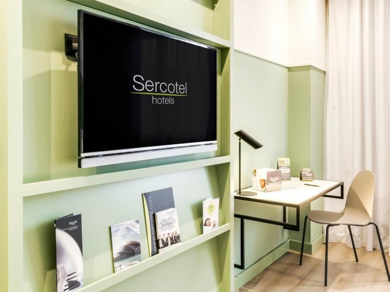 Habitación familiar Comunicada del hotel Sercotel Acteon
