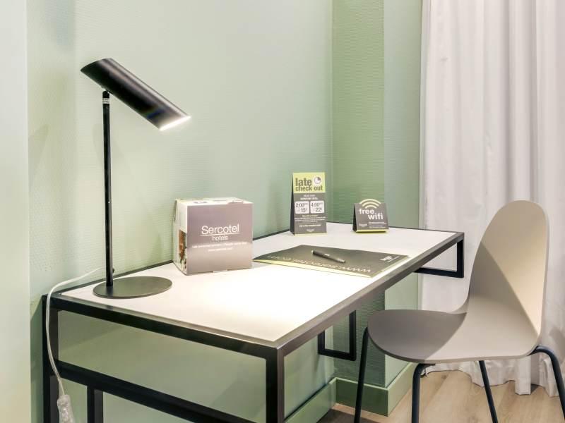 Habitación doble Confort del hotel Sercotel Acteon. Foto 3