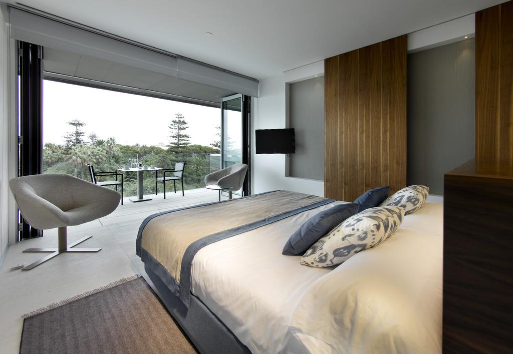 Habitación doble  del hotel Parador de Cádiz
