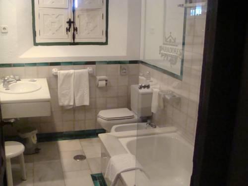 Habitación doble dos camas separadas del hotel Parador de Jaén. Foto 3