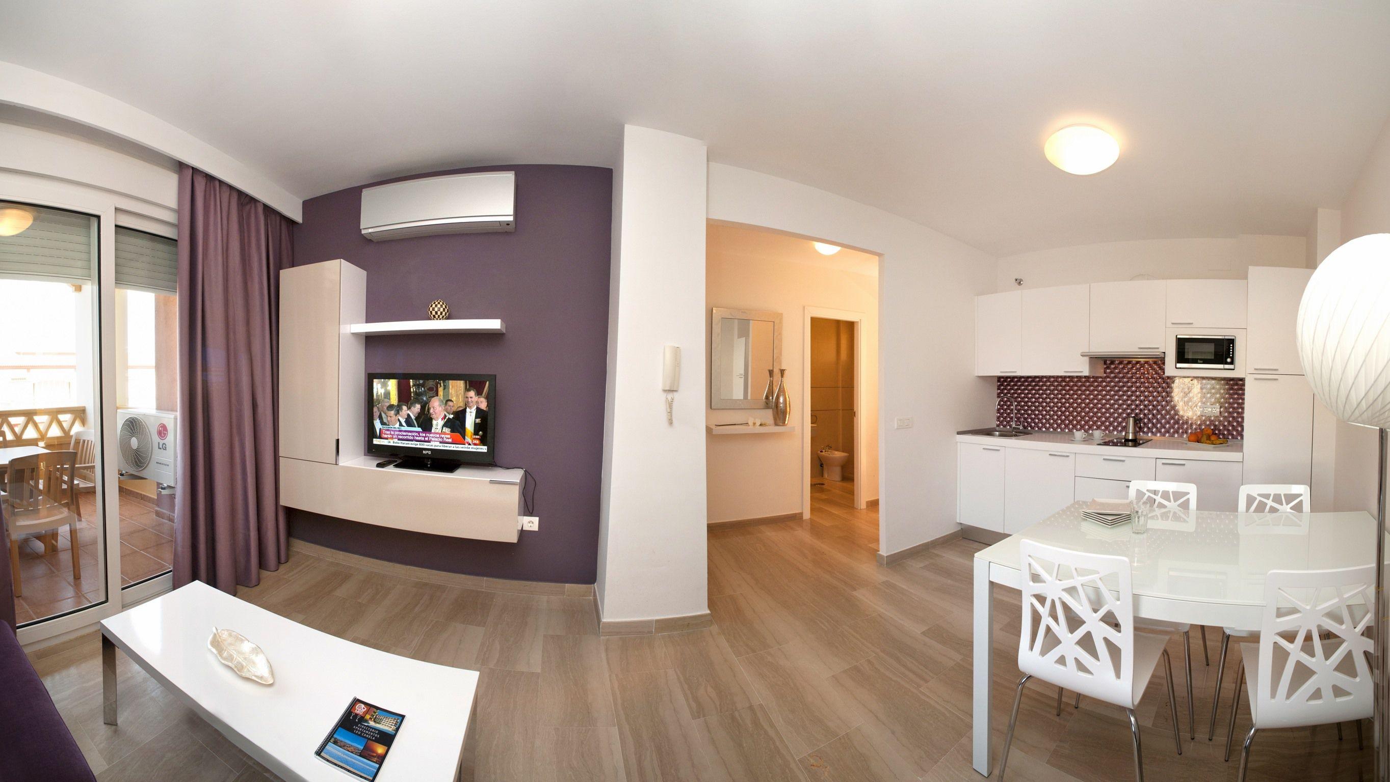 Apartamento 1 dormitorio Superior del hotel Leo Canela
