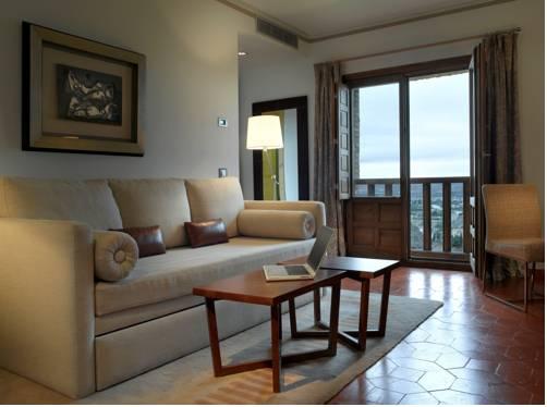 Junior suite  del hotel Parador de Toledo