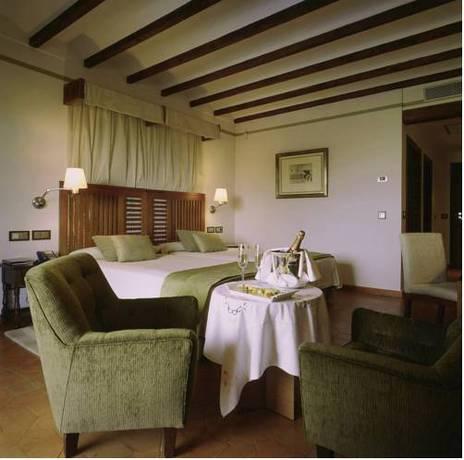 Habitación doble  del hotel Parador de Toledo
