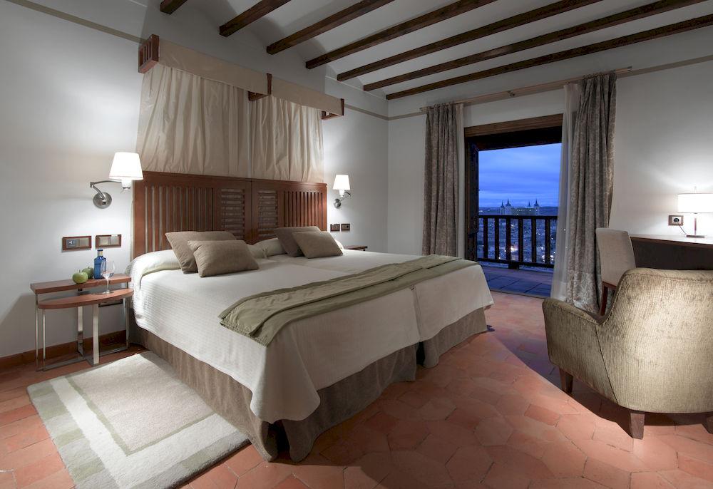 Habitación doble Superior dos camas separadas del hotel Parador de Toledo
