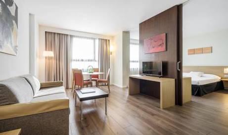 Habitación doble Superior del hotel Ilunion Valencia