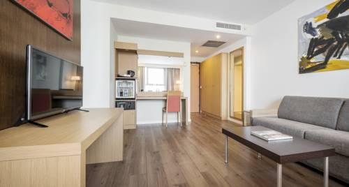 Habitación doble Superior del hotel Ilunion Valencia. Foto 2