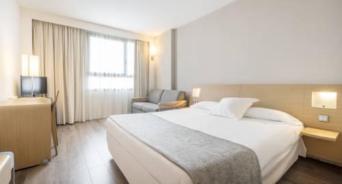 Habitación doble  del hotel Ilunion Valencia
