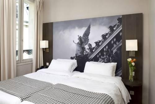 Habitación doble dos camas separadas del hotel Victoria