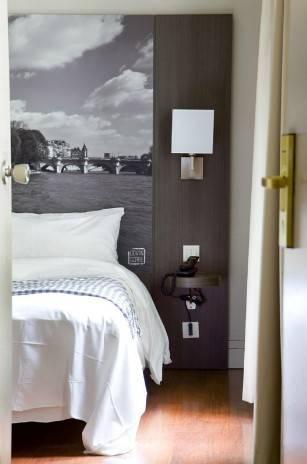 Habitación individual  del hotel Victoria