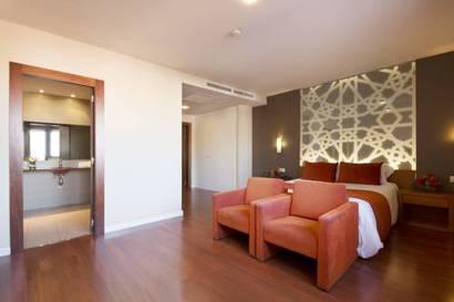Habitación doble  del hotel Granada Palace