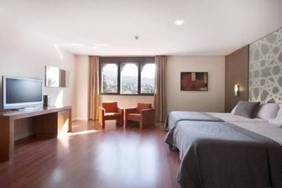 Suite  del hotel Granada Palace