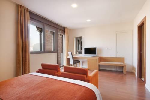 Habitación individual  del hotel Granada Palace