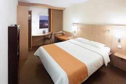 Habitación doble  del hotel Ibis Praha Old Town