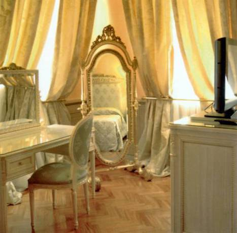 Suite  del hotel Andreola Central