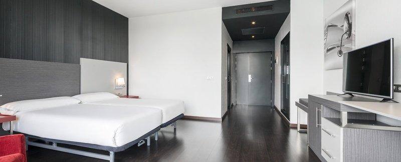 Habitación doble Accesible del hotel Ilunion Atrium