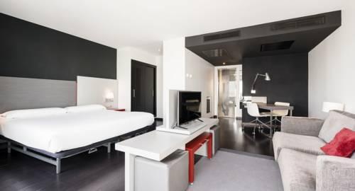 Habitación doble Superior del hotel Ilunion Atrium. Foto 2