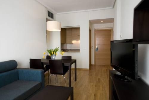 Apartamento 2 dormitorios  del hotel Compostela Suites
