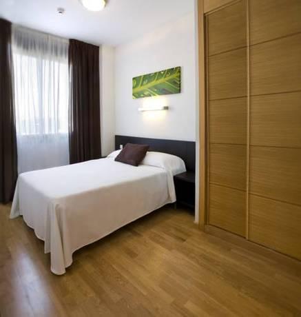 Apartamento 2 dormitorios Grande del hotel Compostela Suites