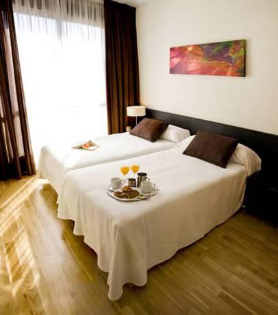 Apartamento 2 dormitorios Grande del hotel Compostela Suites. Foto 1