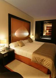 Habitación doble  del hotel Don Manuel Atiram