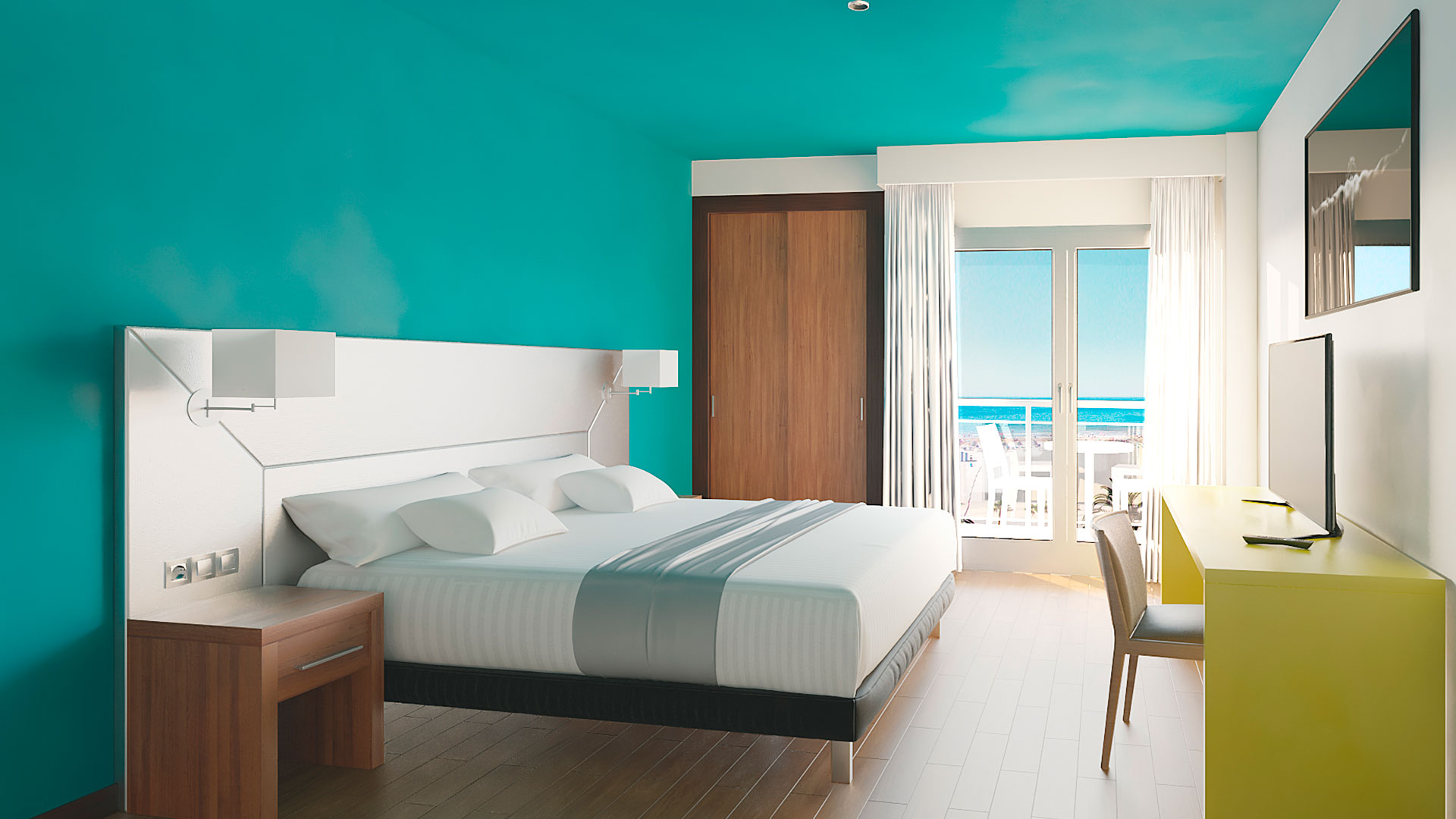 Junior suite  del hotel Ritual Torremolinos- Adults Only