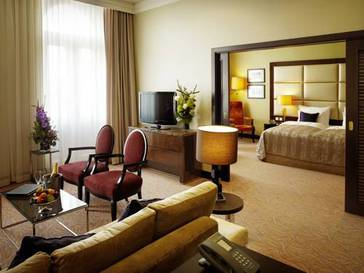 Suite Ejecutiva del hotel Kings Court