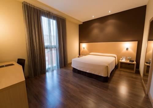 Habitación doble  del hotel Sercotel Gran Bilbao