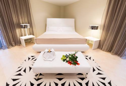 Suite  del hotel Sercotel Gran Bilbao