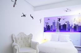 Habitación doble Superior del hotel Dormirdcine. Foto 1