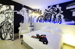 Habitación doble Superior del hotel Dormirdcine. Foto 3