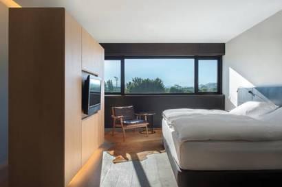 Habitación doble Lujo del hotel Muga de Beloso - Alma Pamplona. Foto 1