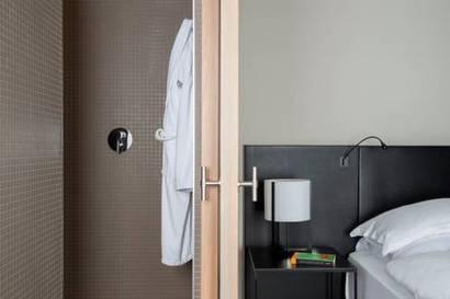 Habitación doble Gran Lujo del hotel Muga de Beloso - Alma Pamplona. Foto 1