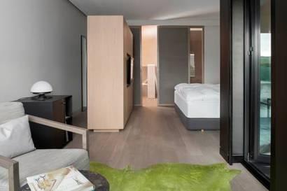 Habitación doble Gran Lujo del hotel Muga de Beloso - Alma Pamplona. Foto 3