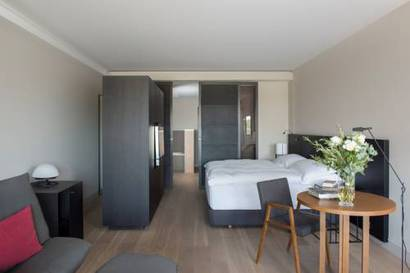 Suite Ejecutiva del hotel Muga de Beloso - Alma Pamplona. Foto 2