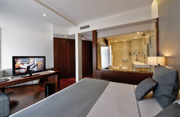 Junior suite  del hotel Carris Marineda